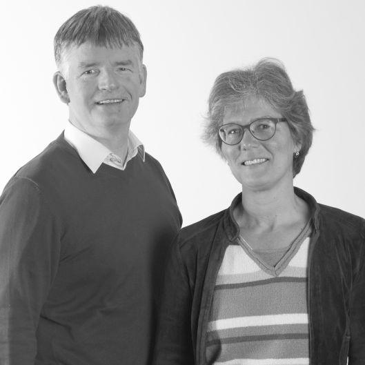 Meindert en Gerry Zuur