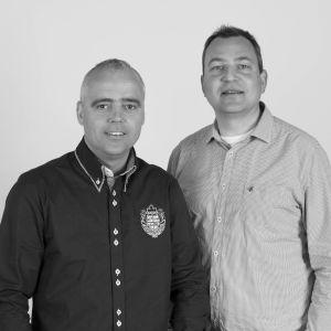 Peter van den Born en Jan Meindert Bosma